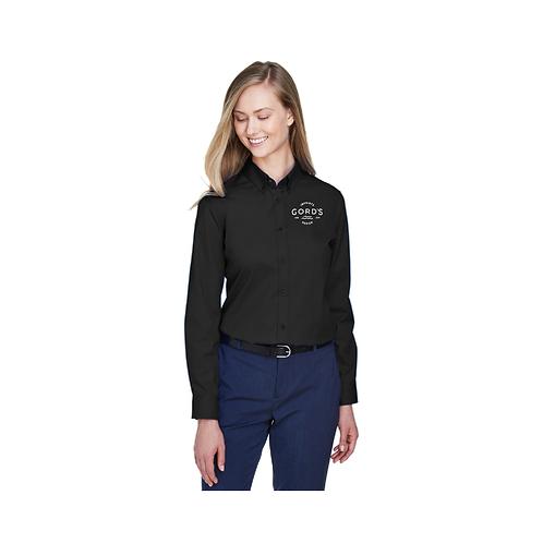 Ladies' Operate Long-Sleeve Twill Shirt