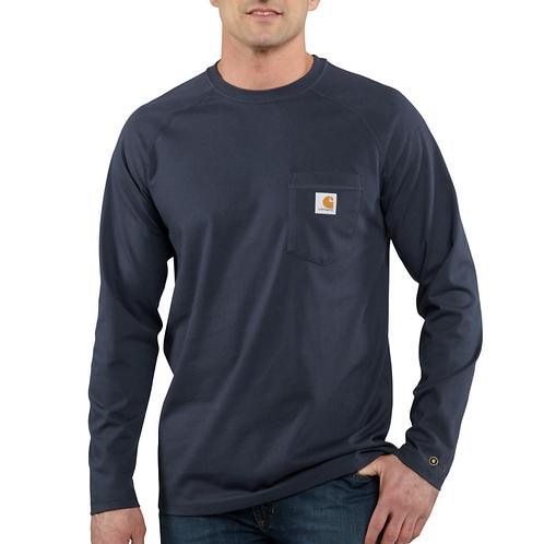 Carhartt Force™ Cotton Delmont Long-Sleeve T-Shirt