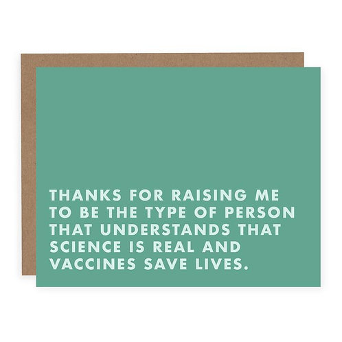 SCIENCE IS REAL AND VACCINES SAVE LIVES | CARD