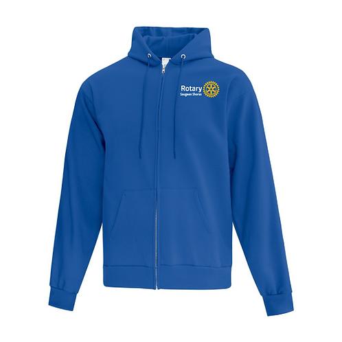 Saugeen Shores Rotary Royal ATC Zip-up Sweater