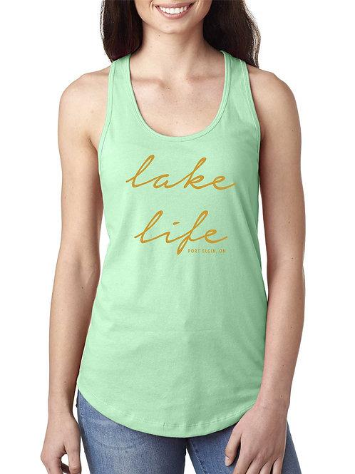 Lake Life Racerback Tank