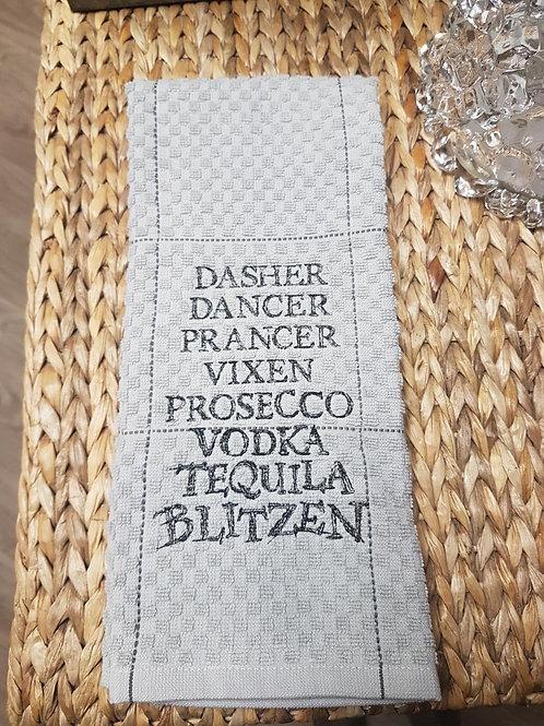 Blitzen Hand Towel