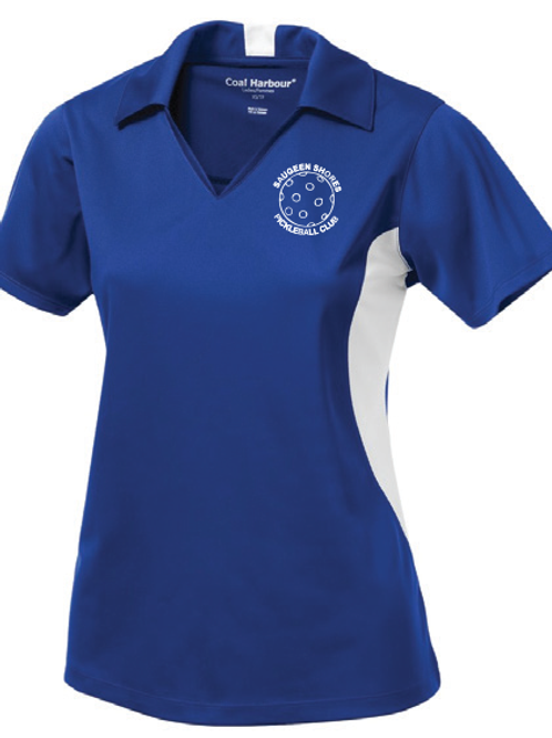 SS Pickleball Ladies Sport Shirt