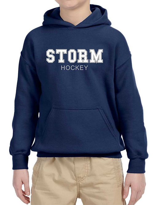 Youth Storm Applique Hoodie