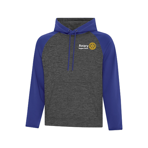 Saugeen Shores Rotary Royal Two Tone Sweater