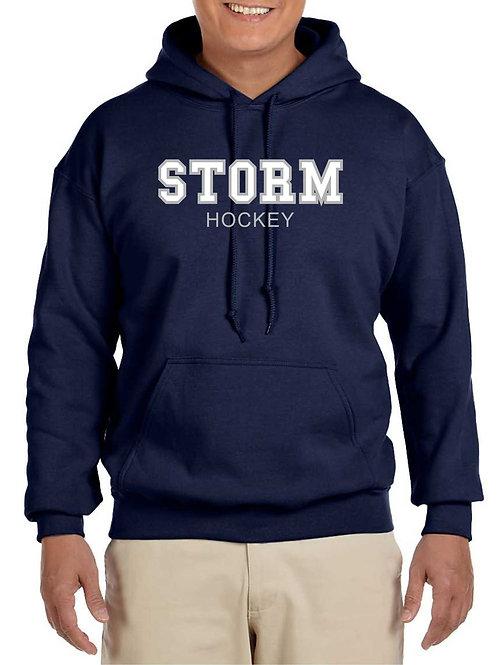 Adult Storm Applique Hoodie