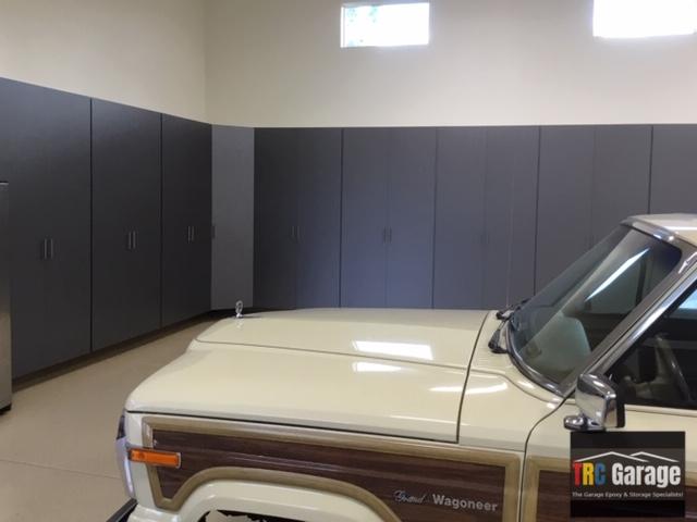 Garage Cabinets-Temecula-Graphite