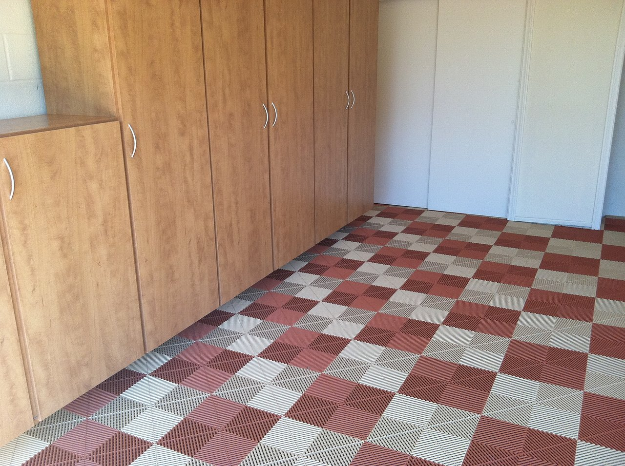 Garage Tile Flooring, Solana Beach