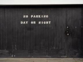 Living in a garage?