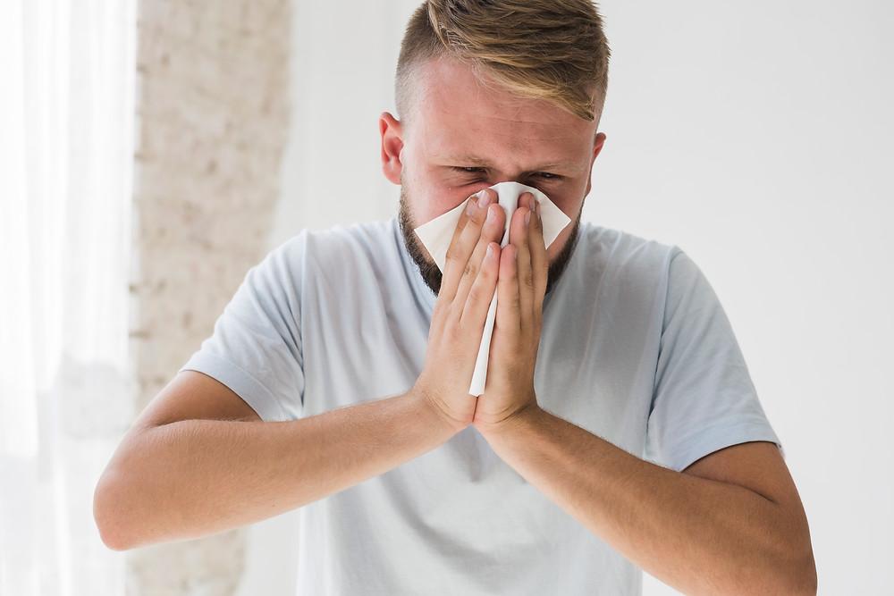 Allergic man in self-managed strata wants weeds sprayed