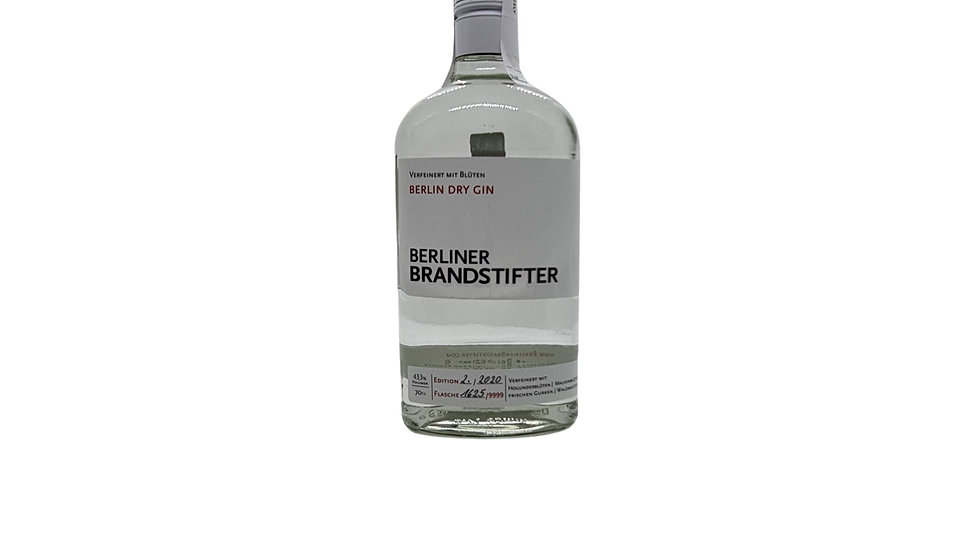 Schlikin Berliner Brandstifter Berlin Dry Gin