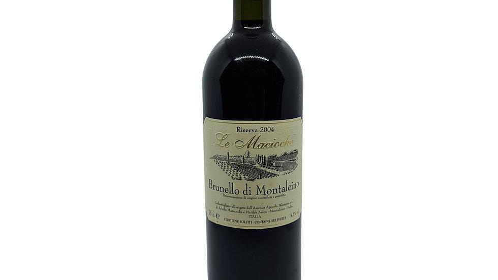 Le Macioche Brunello di Montalcino Riserva DOCG 2004 - 75cl