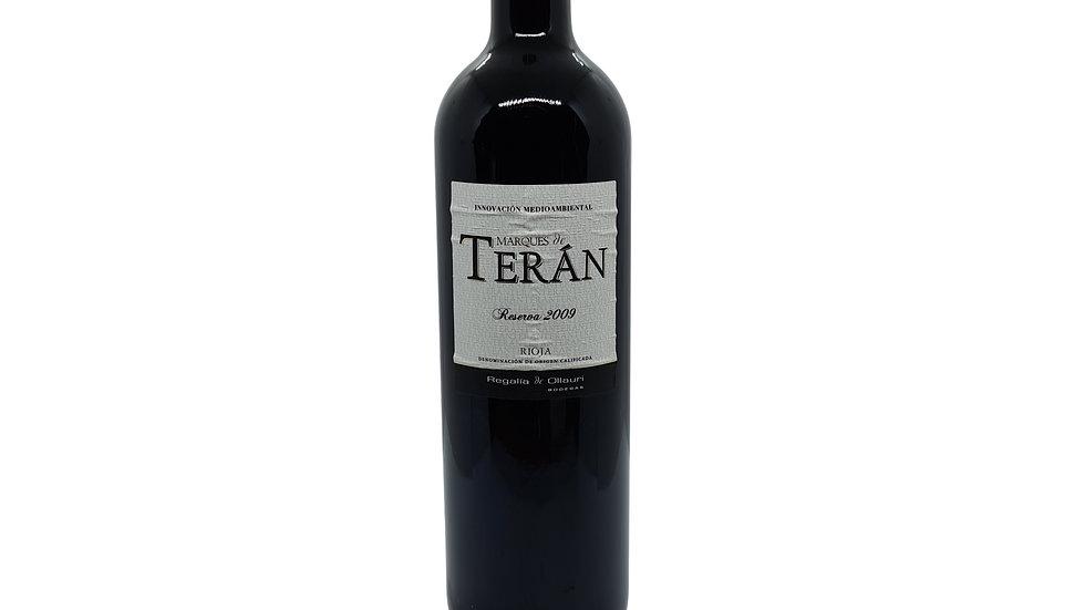 Marques Teran Reserva Rioja DOCa 2009 - 75cl
