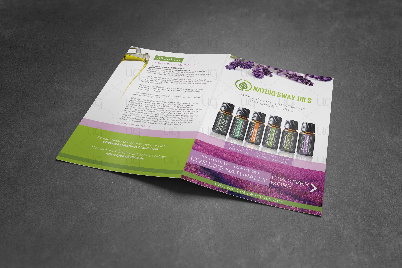 Natural Oils brochure final look by ug2
