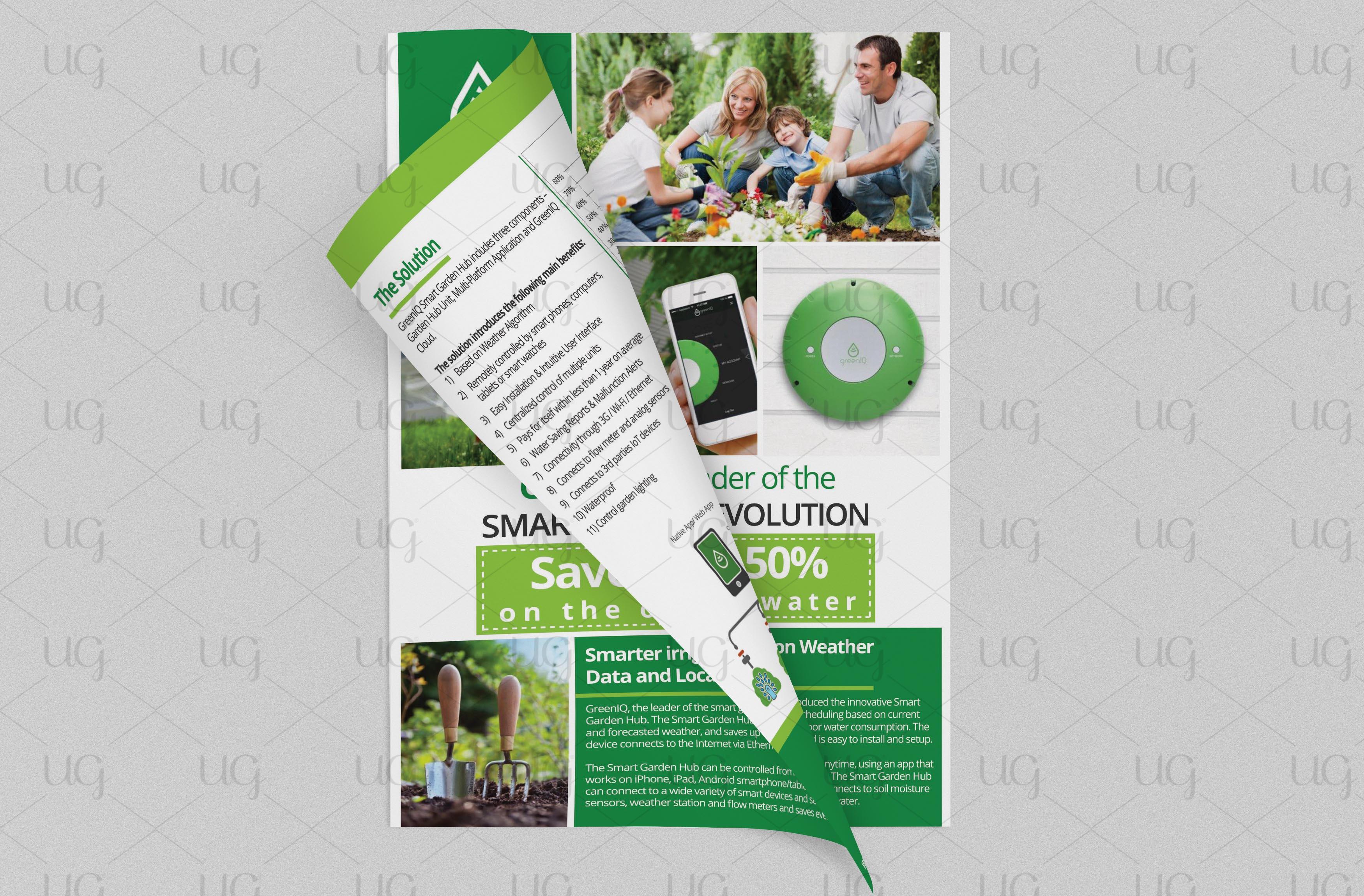 Green IQ flyer final look by ug2