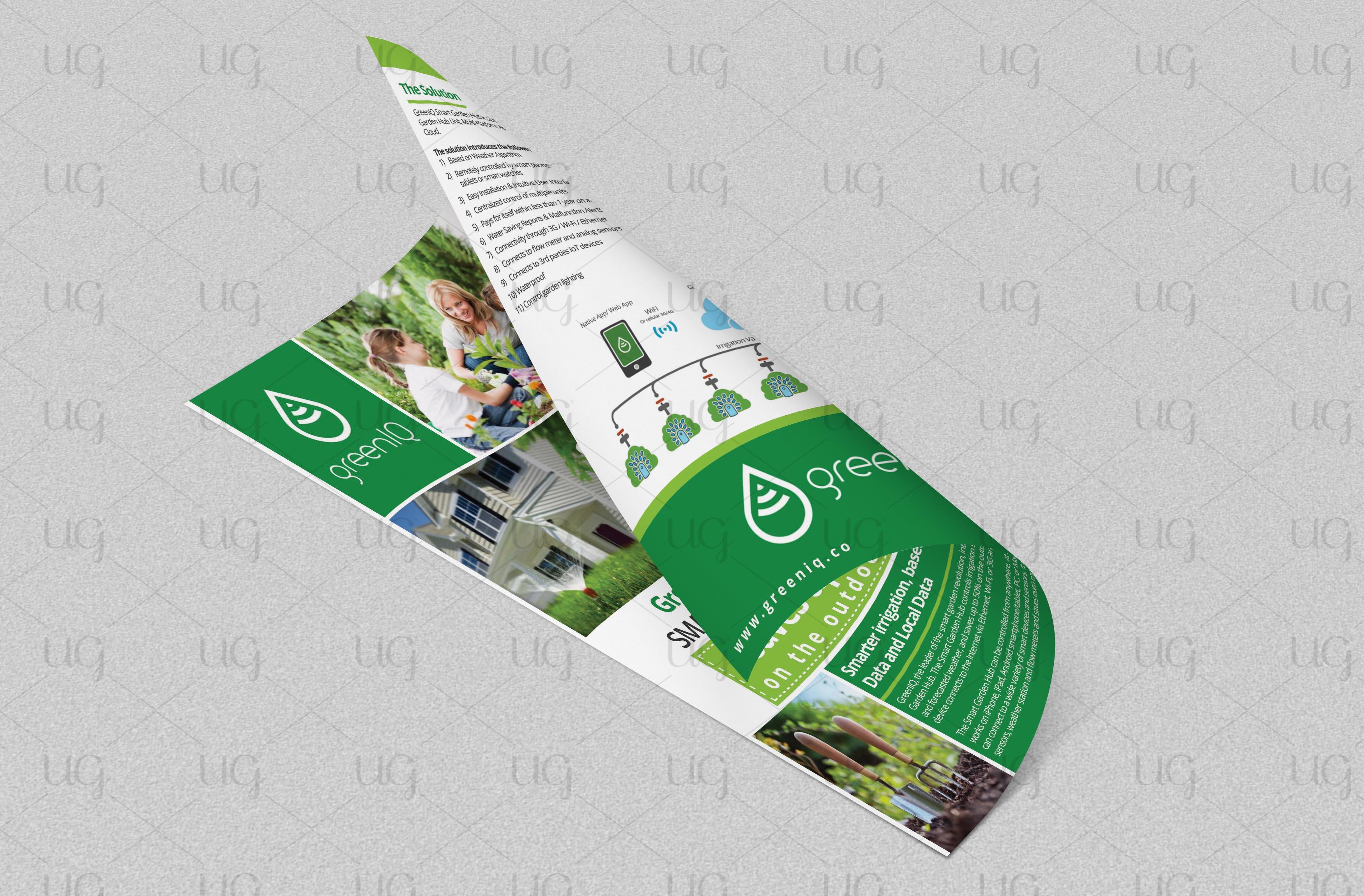 Green IQ flyer final look by ug3