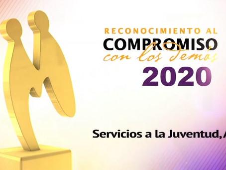 SERAJ recibe el Reconocimiento al Compromiso con los Demás 2020