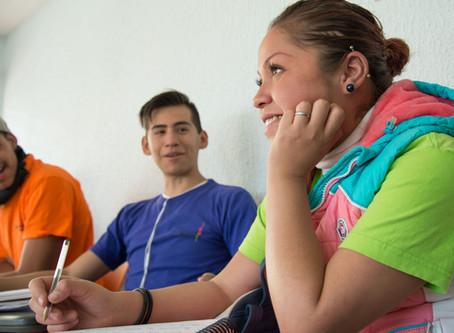 La Educación, el derecho que abre la puerta a nuevas oportunidades para las y los jóvenes