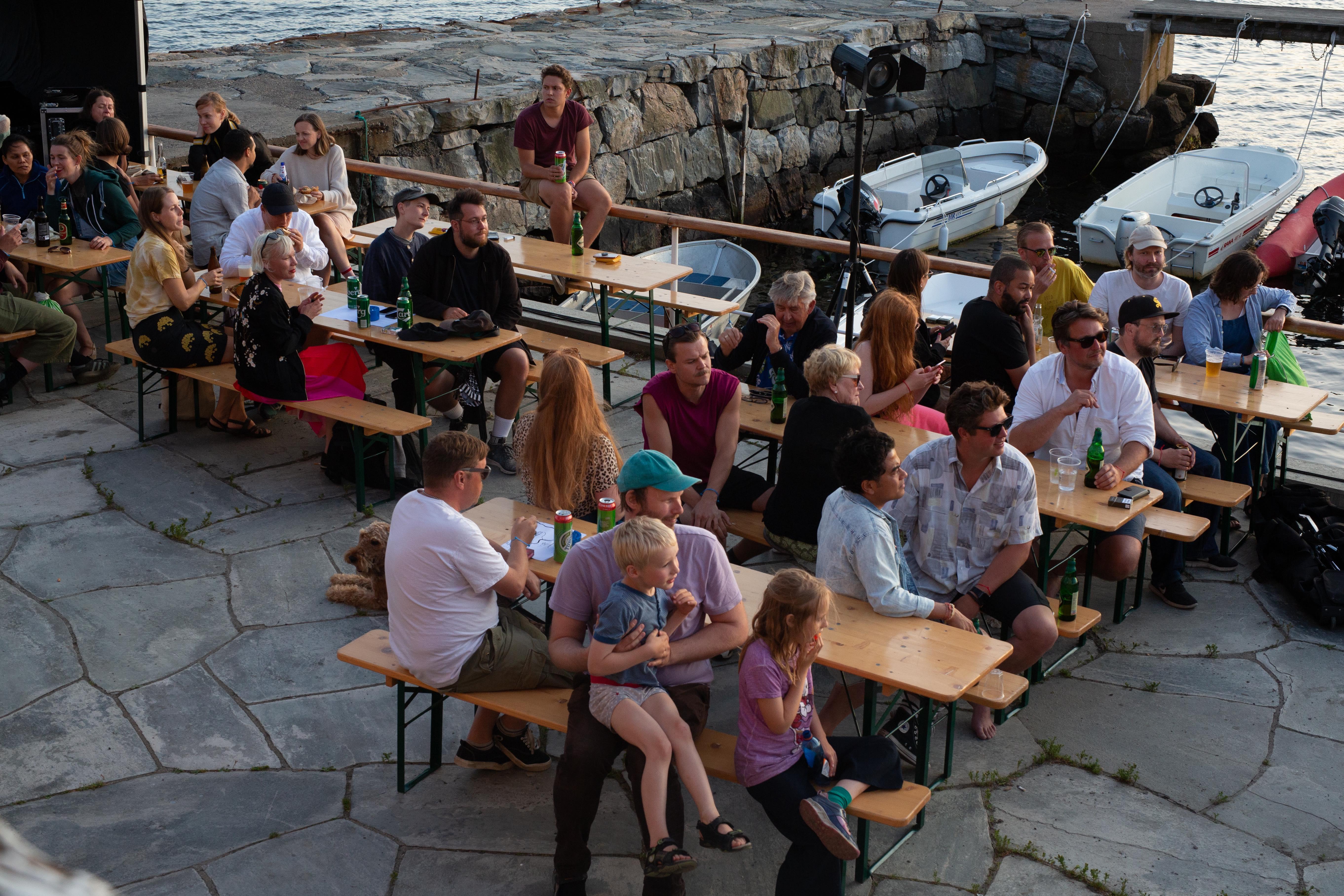 Fra Sjøboden scene