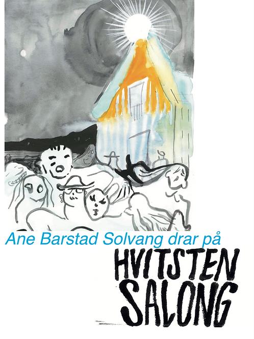 Ane Barstad Solvang drar på Hvitsten Salong