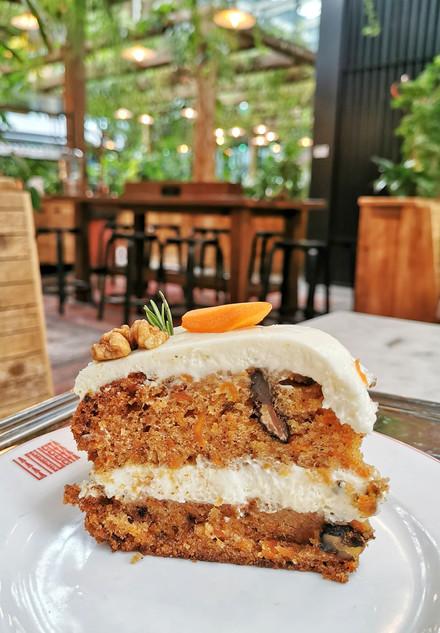 A la recherche du meilleur carrot cake de Paris N°1!