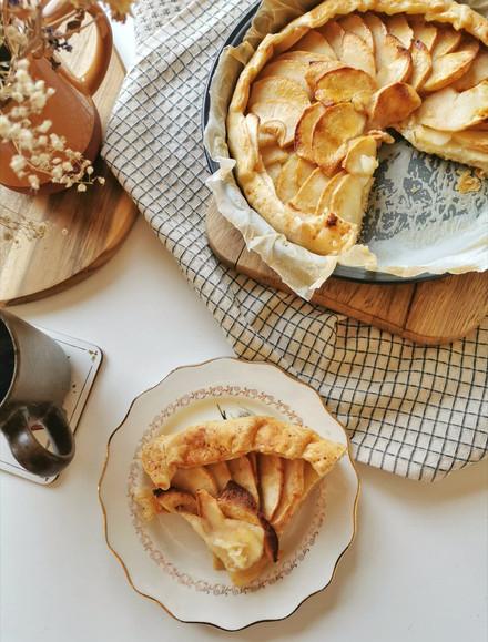 Saveurs d'automne: tarte pommes / cannelle (sans sucre ajouté !)