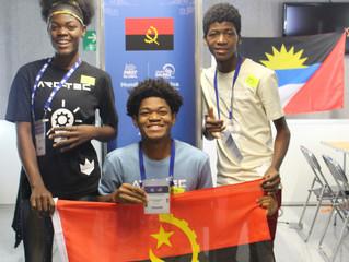 Equipe Angolana participa no Campeonato Mundial de Robótica 2018, na cidade do Mexico