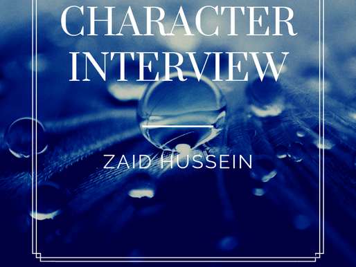 Character Interview: Zaid Hussein