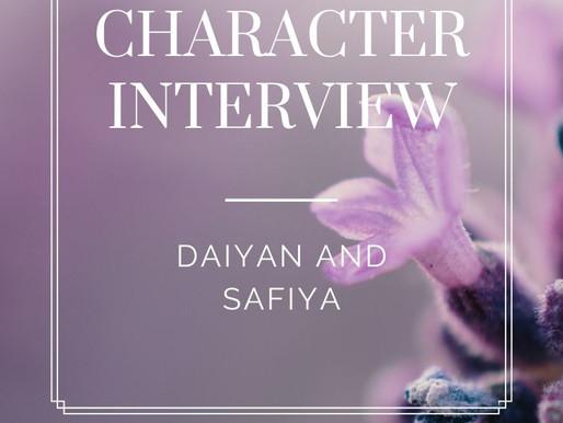 Character Interview: Daiyan Mustafa and Safiya Jameel