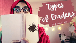 Types of Readers (In a Writer's Life)