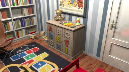bureau / salle-de-jeux