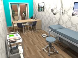 centre medical_cabinet_3D