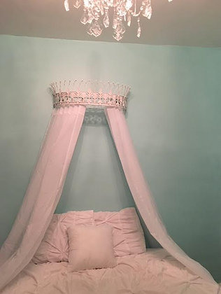 Crown Canopy, Bed Canopy, Bed Crown, Wall Crown, Crown Wall Décor, Bed Crown Canopy, Canopy Crown, Teester, Nursery Wall Deco