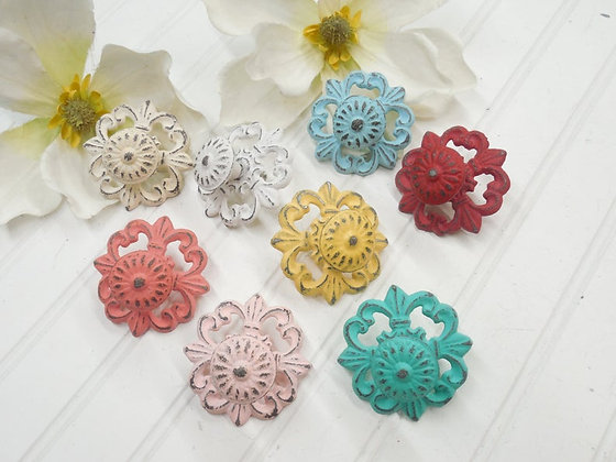 Cabinet Knobs, Dresser Knobs, Drawer Pulls, Knobs, Shabby Chic Drawer Pulls, Shabby Chic Knobs, Drawer Knobs and Pulls, The S