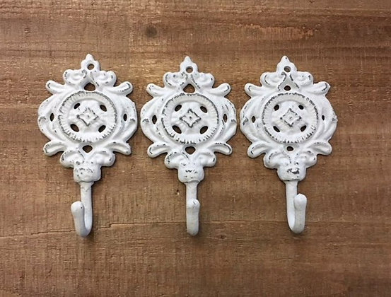 Decorative Hook-SINGLE HOOK, Wall Hooks, Ornate Hook, Coat Hook, Hooks, Wall Hooks Vintage, Bath Hook, Shabby Chic, The Shabb