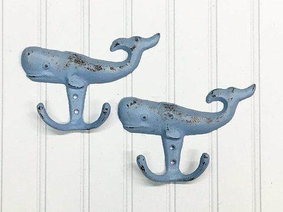 Whale, Whales, Whale Hook, The Shabby Store, Nautical Hook, Beach Hook, Beach Hook, Bath Hook, Towel Hook, Hooks, Kids Bath