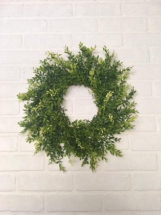 "15"" Green Beauty Wreath"