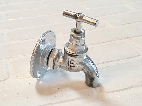 Faucet Hook/Spigot Hook/Tap Hook/Towel Hook/Vintage Hook/Wall Hook/Hook/Industrial/Steampunk/Shabby/Bathroom/Bath/G