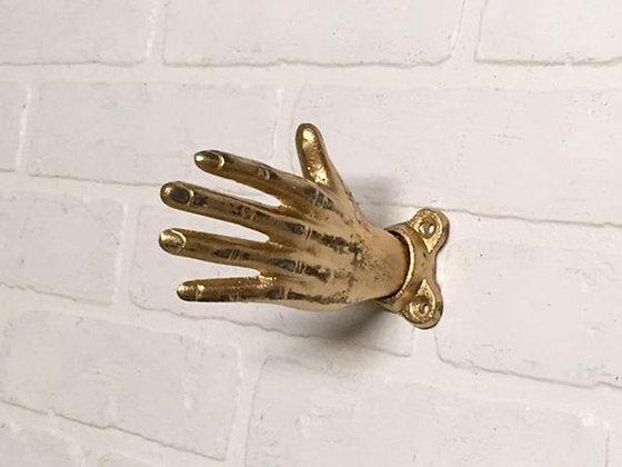 Hand Hook, Wall Hooks, Hand Wall Hook, Curtain Holdback, Wall Hook, Curtain Tiebacks, Coat Hooks, The Shabby Store, Coat Hook