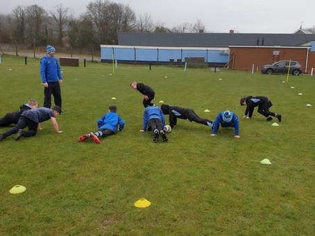 U10's Training