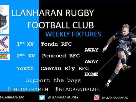 Fixtures This Week