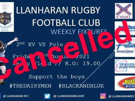 Llanharan v Pyle Game Off