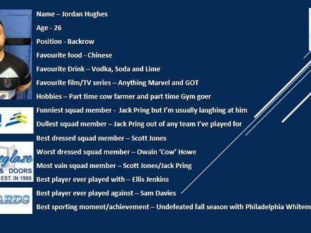 Player Profile - Jordan Hughes