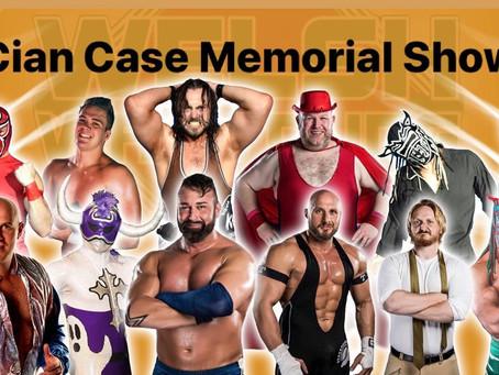 Cian Case Memorial Show