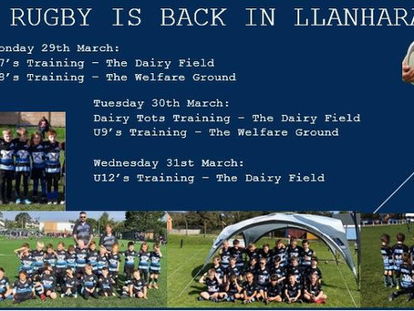 Rugby Is Back