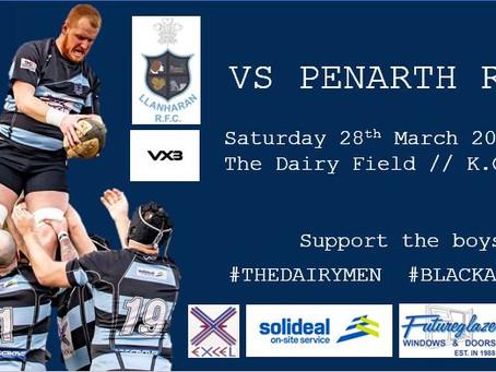 Next game Penarth RFC