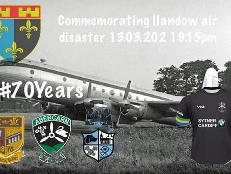 Memorial Match for Llandow Air Disaster