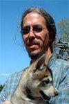 Ken and Siberian puppy
