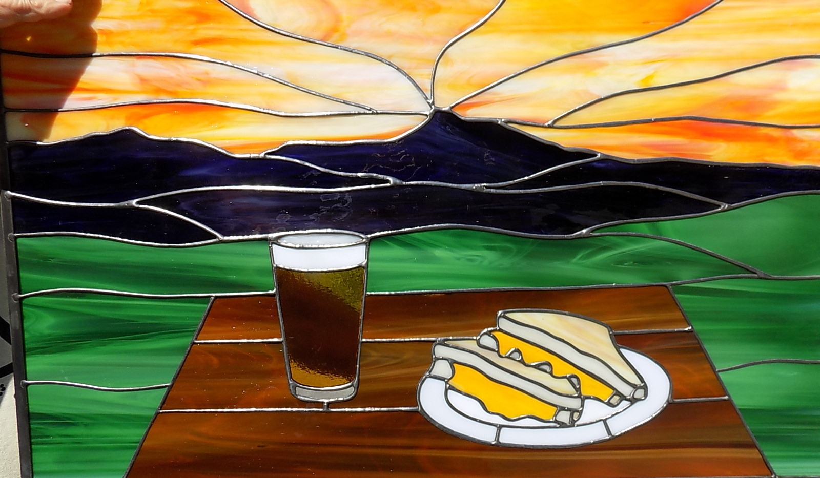 grilled cheese and beer2.JPG