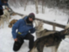 Siberian Husky kisses
